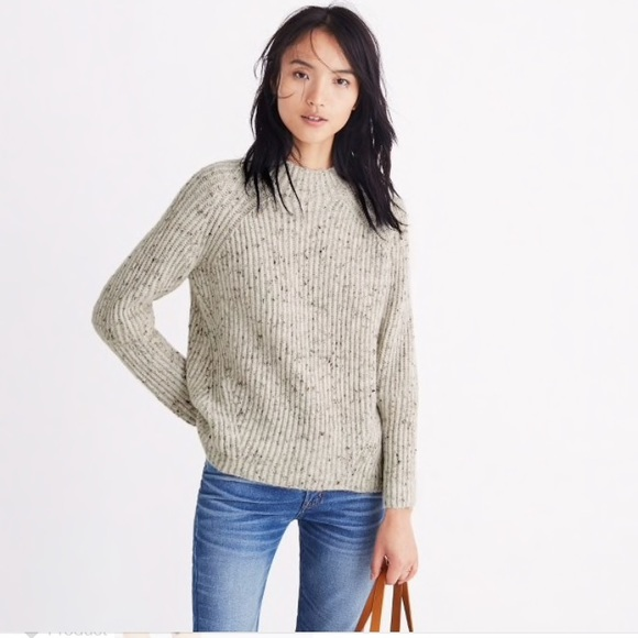 56c1114faab Madewell Sweaters - Madewell donegal northfield mockneck sweater